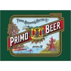 Premium Giclee Print: Primo Beer - Hawaii - Hawaiian Beer - Primo Brewing & Malting Co. Ltd by Pacifica Island Art: 18x24in