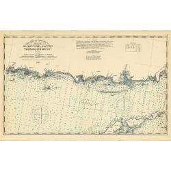 Giclee Print: 1893, United States Coast Survey - Southwest Ledge to Niantic - Long Island Sound, Connecticut, Uni: 16x12in