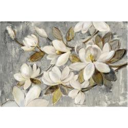 Art Print: Magnolia Simplicity Neutral Gray by Silvia Vassileva: 24x16in