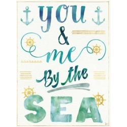 Art Print: Coastal Words Ii by Wild Apple Portfolio: 24x18in