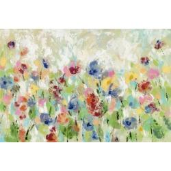 Art Print: Springtime Meadow Flowers by Silvia Vassileva: 24x16in