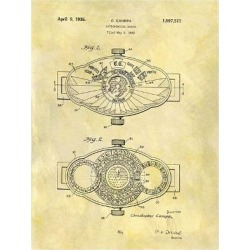 Giclee Print: Astronomical Watch, 1932 by Dan Sproul: 36x28in