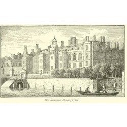 Giclee Print: Old Somerset House, 1720: 24x16in found on Bargain Bro India from Art.com for $25.00