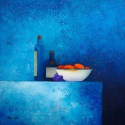 Art Print: Still Life 2 by Hans Paus: 18x18in found on Bargain Bro India from Art.com for $17.00
