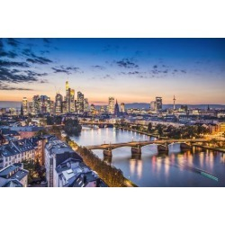 Photographic Print: Frankfurt, Germany at the Cathedral. by SeanPavonePhoto: 24x16in