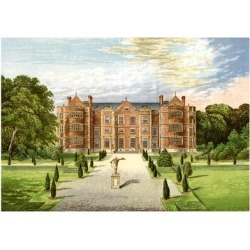 Giclee Print: Burton Agnes Hall, Worcestershire, Home of Baronet Boynton, C1880 by AF Lydon: 24x18in