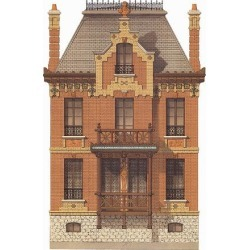 Art Print: Victorian House, No. 7: 16x12in