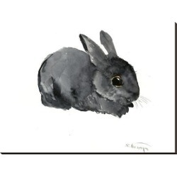 Stretched Canvas Print: Bunny 4 by Suren Nersisyan: 36x48in found on Bargain Bro from Art.com for USD $121.60