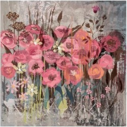 Premium Giclee Print: Floral Frenzy Pink I by Alan Hopfensperger: 44x56in found on Bargain Bro from Art.com for USD $97.28