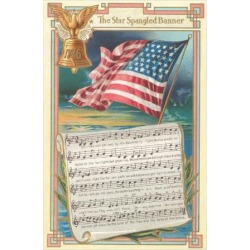 Art Print: Sheet Music for the Star-Spangled Banner Poster: 16x12in