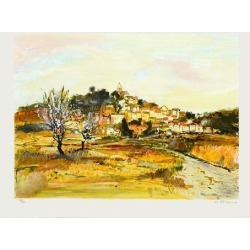 Limited Edition: Le Village by Michel Jouenne: 18x24in