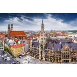 Photographic Print: City Hall in Munich, Germany. by SeanPavonePhoto: 24x16in