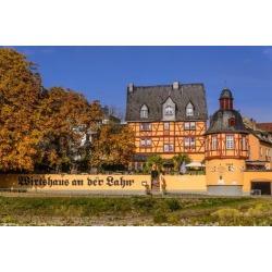Photographic Print: Germany, Rhineland-Palatinate, Upper Middle Rhine Valley, Lahnstein, District Niederlahnstein by Udo Siebig: 24x16in