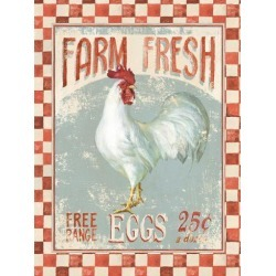 Art Print: Farm Nostalgia Vii by Wild Apple Portfolio: 32x24in