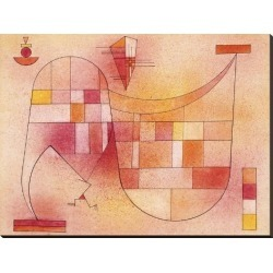 Stretched Canvas Print: Yellow Pink by Wassily Kandinsky: 36x48in found on Bargain Bro from Art.com for USD $190.00