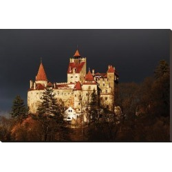 Stretched Canvas Print: Dracula Castle Transylvania: 29x44in found on Bargain Bro from Art.com for USD $178.60