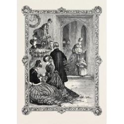 Giclee Print: Floral Decorations, 1869: 24x18in