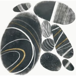 Art Print: Mineralize II by Victoria Borges: 16x16in found on Bargain Bro Philippines from Art.com for $15.00