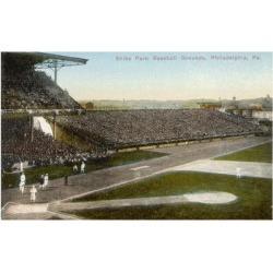 Giclee Print: Shibe Park Baseball Grounds, Philadelphia, Pennsylvania, America 1910: 16x12in