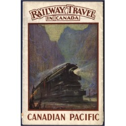 Premium Giclee Print: Railway Travel in Canada: 56x44in