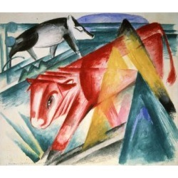 Giclee Print: Animals, 1912-1913 by Franz Marc: 24x18in found on Bargain Bro Philippines from Art.com for $30.00