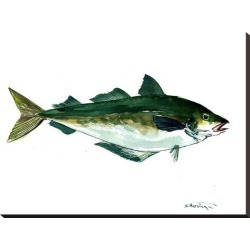 Stretched Canvas Print: Seafood Fish by Suren Nersisyan: 24x32in found on Bargain Bro from Art.com for USD $102.60