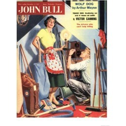 Giclee Print: John Bull, Repairing Appliances Magazine, UK, 1957: 24x18in