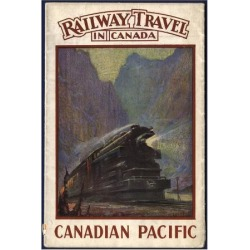 Premium Giclee Print: Railway Travel in Canada: 48x36in