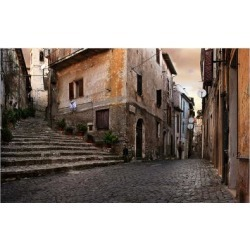Art Print: Old Italian Village by conrado: 24x16in