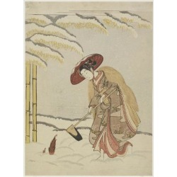 Giclee Print: Mitate of Meng Zong, One of the Twenty-Four Paragons of Filial Piety, after 1765 by Suzuki Harunobu: 24x18in found on Bargain Bro from Art.com for USD $22.80