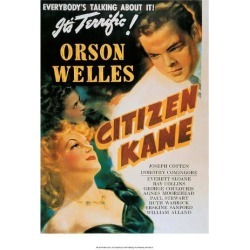 Art Print: Vintage Movie Poster - Orson Welles in Citizen Kane: 16x12in found on Bargain Bro Philippines from Art.com for $15.00