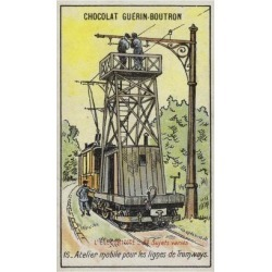 Giclee Print: Mobile Platform for Repairing Overhead Power Lines on Tramways: 24x16in