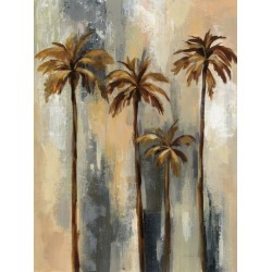 Art Print: Palm Trees Ii by Wild Apple Portfolio: 32x24in