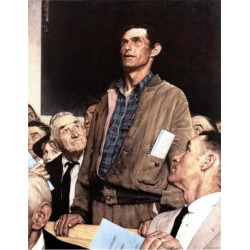 Giclee Print: Four Freedoms Art Print by Norman Rockwell by Norman Rockwell: 16x12in