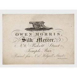Giclee Print: Silk Mercer, Owen Morris, Trade Card: 24x18in found on Bargain Bro India from Art.com for $25.00