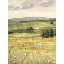 Art Print: Morning Meadow II by Victoria Borges: 24x18in found on Bargain Bro Philippines from Art.com for $20.00