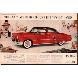 Stretched Canvas Print: Lincoln1953 Like New Day Homes: 36x54in found on Bargain Bro India from Art.com for $236.00