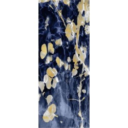 Giclee Print: Indigo Nature with Gold II by Danielle Carson: 32x15in found on Bargain Bro from Art.com for USD $28.88