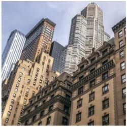 Premium Giclee Print: Skyscrapes in New York City: 9x12in