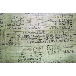 Giclee Print: Rhind Mathematical Papyrus, from Thebes, Egypt, c1550 BC. Artist: Unknown: 24x16in found on Bargain Bro from Art.com for USD $19.00
