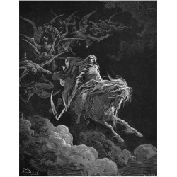 Giclee Print: Vision of Death Art Print by Gustave Doré by Gustave Doré : 24x18in found on Bargain Bro India from Art.com for $30.00