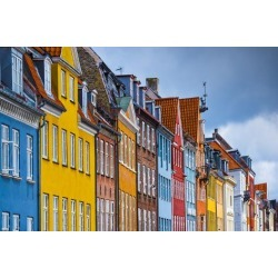 Photographic Print: Nyhavn Buildings in Copenhagen, Denmark. by SeanPavonePhoto: 24x16in