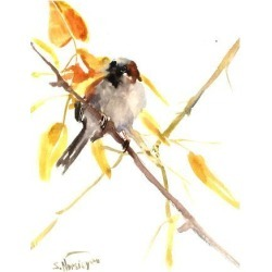 Giclee Print: Sparrow 3 by Suren Nersisyan: 24x18in found on Bargain Bro India from Art.com for $40.00