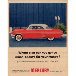 Premium Giclee Print: 1954 Mercury - So Much Beauty: 12x9in found on Bargain Bro from Art.com for USD $25.08