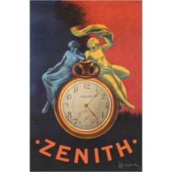 Giclee Print: Zenith - Pocket Watch by Leonetto Cappiello: 44x30in