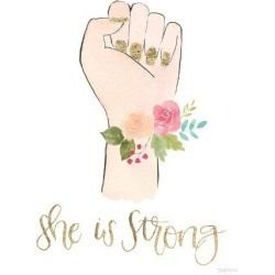Art Print: Girl Power X by Wild Apple Portfolio: 32x24in