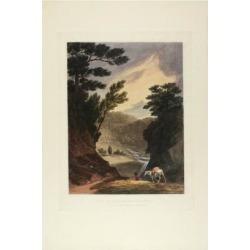 Giclee Print: View Near the Schuylkill Falls, Pennsylvania, 1819-21 by John Hill: 24x16in