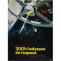 Art Print: 2001: A Space Odyssey, French Movie Poster, 1968: 16x12in found on Bargain Bro Philippines from Art.com for $15.00