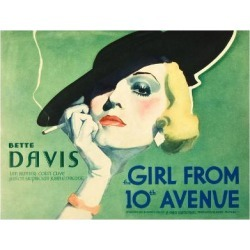 Art Print: The Girl From 10th Avenue, Bette Davis on title card, 1935: 24x18in found on Bargain Bro India from Art.com for $20.00