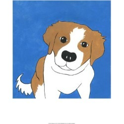 Art Print: Buster by Megan Meagher: 19x13in found on Bargain Bro India from Art.com for $17.00
